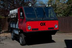 The OX Flatpack Truck is Designed for Developing Countries