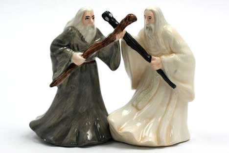 Lord Of The Rings Salt And Pepper Shakers