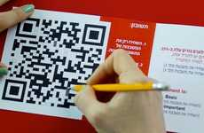 IQ-Screening Campaigns - A QR Code Test by Agency YehoshuaTBWA Screens for Smart Students