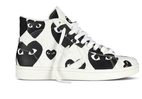 Bold Cartoon-Inspired Sneakers - The New Converse 'PLAY' Collection is Colorfully Quirky