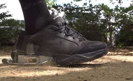 Electricity-Generating Footwear - The PediPower Shoes Harnesses Kinetic Energy from Pedestrians