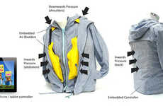 Hug-Simulating Outerwear - The 'T.Jacket System' is a Reassuring Tech-Enabled Device