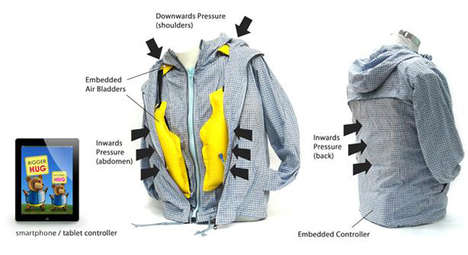 Hug-Simulating Outerwear - The