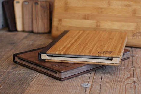 Wood iPad Cases by Root Cases