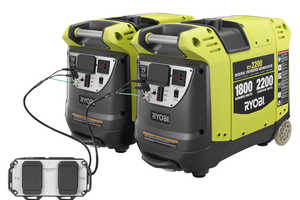 The 'RYi2200' Ryobi Generators Double Up the Power by Merging