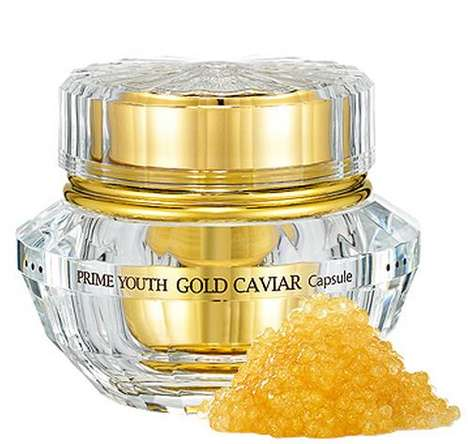 Caviar-Replicating Skin Products - Keep Your Skin Youthful with Anti-Aging Caviar by Holika Holika