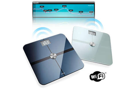 Wifi Bathroom Scales - Withings Bathroom Devices Keep Track of Your Weight