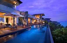 Pool-Bordered Penthouse Suites - The Conrad Koh Samui Resort's Oceanview Villa is Breathtaking