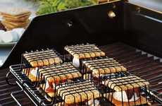 Clever Campfire Treat Baskets - The 'S'More to Love S'More Maker' Grills on