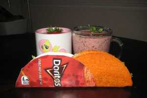 These Smoothies are Made with Taco Bell Doritos Tacos