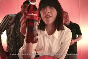 People Can Now Have Their Names Printed onto Coke Bottles