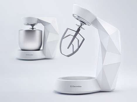 Hi-Tech Prismatic Blenders - The Sensi Standmixer by Peter Braakhuis Can be Controlled Remotely