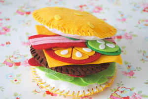 Your Mouth Will Water at the Sight of the Felt Food from Cass Art