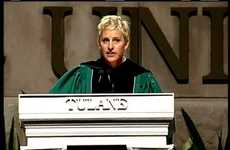 Ellen DeGeneres Gives A Personal, Encouraging Commencement Speech