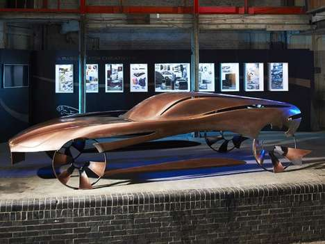 Bronze Automotive Art - The Jaguar Advanced Design Competition Gives a Glimpse at Future Jags
