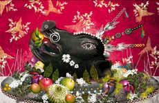 Tasty Food-Inspired Art
