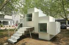 8-Bit Style Compact Dwellings - The Micro House is a Compact Home That is Totally Functional