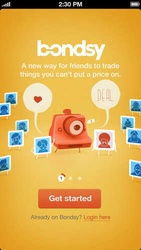 Friendship-Purchasing Apps - The 'Bondsy' App Lets You Sell Items for More Than Money