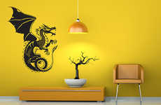 24 Geeky Wall Decals - From Fairytale Wall Enhancements to Gamer Wall Stickers