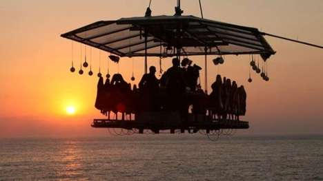 Sky-High Dining Experiences - Hotel Cipriani's 'Dinner in the Sky' Lets Guests Dine Among the Stars