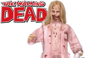 The Waking Dead Girl Prop Will Scare Any Child