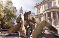 Real-Life Escher Stairways