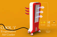Arid Abode Chillers - The Cool-I Air Cooler Uses Humidity to Cool Down Spaces