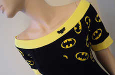 Flirty Caped Crusader Dresses