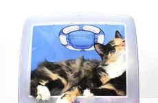 Desktop Cat Cribs - The iMac Pet Bed Turns is Ideal for Feline-Loving Apple Fans
