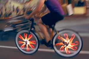 Bicycle Wheels Will Look Much Cooler with the Monkey Light Pro