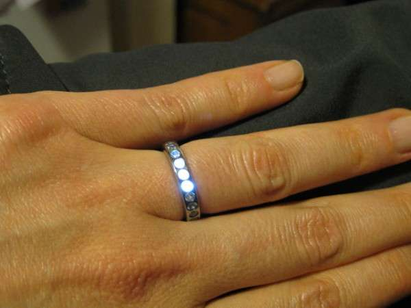 Light-Up Wedding Bands