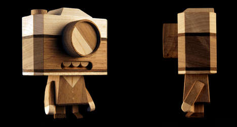 Wooden Bots by Loulou and Tummie