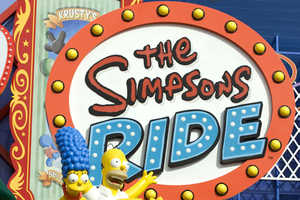 The Simpsons Theme Park Will Bring Springfield to Universal Studios