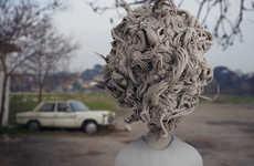 Peculiar Abstract Human Art