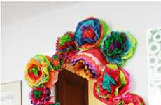 These Aunt Peaches DIY Fiesta Flowers Will Add an Exotic Twist to Decor