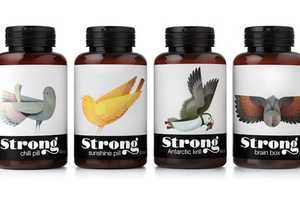 Pearlfisher's Avian Packaging is Beautifully Minimalist