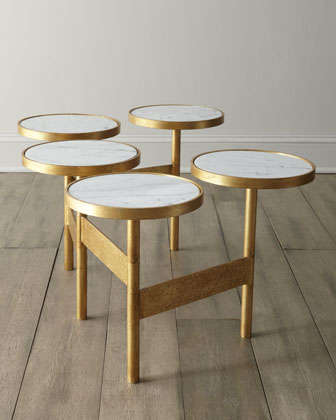 Leg-Linked Furniture - The 'Circles' Coffee Table Will Help Maximize Table Space