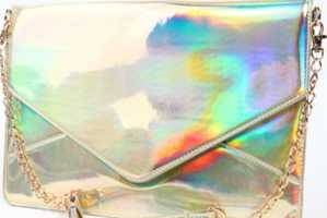 Blind and Dazzle People with the Brilliantly Reflective Janelle Clutch