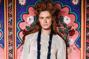 The New Madame Germany Ilva Heitmann Editorial is Richly Colorful
