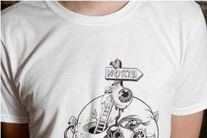Wolf Peach Clothing Uses Tattoo Ideas to Make Awesome Graphic T-Shirts