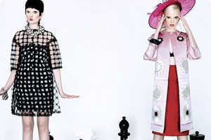 The 'A Game of Chess' Editorial for Harper's Bazaar is Playfully Bold