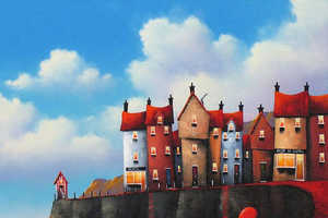 These Colorful Illustrations by David Renshaw Capture Couples
