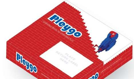 Building Block Rental Services - 'Pleygo' is a LEGO Rental Service for Kids