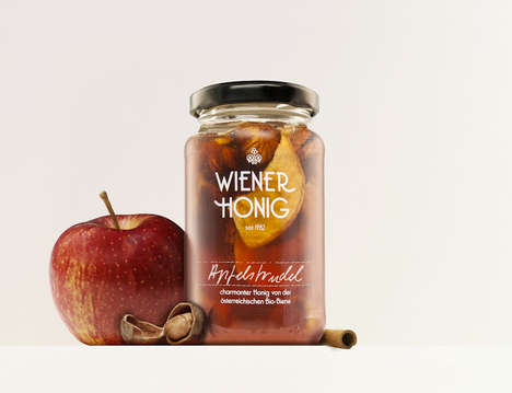 Unusually-Flavored Gourmet Honey - Wiener Honig's Organic Honey is Infused with Odd Flavors