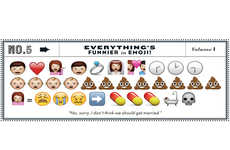 Comedic Emoji Stories - GQ Proves That Bad News is Funnier When it's Delivered by Emoticons