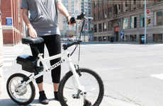 Compact City Cyclers - The Revelo LIFEbike Runs on Electricity and Features No Chain