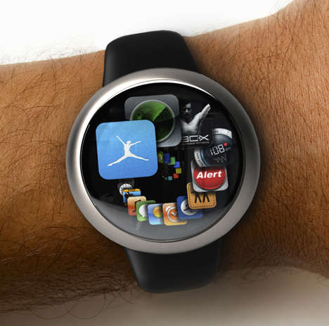 iWatch Concept by Nikolai Lamm