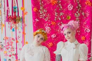 These Unusual Wedding Photos are Inspired by Harajuku Fashion