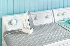 Space-Saving Laundry Accessories - The Dryer Top Ironing Board Makes the Most of an Unused Surface