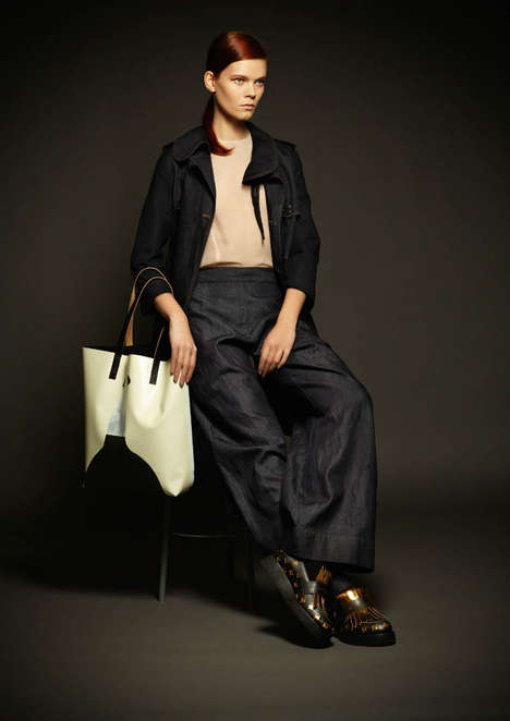 Marni Winter 2013 Denim